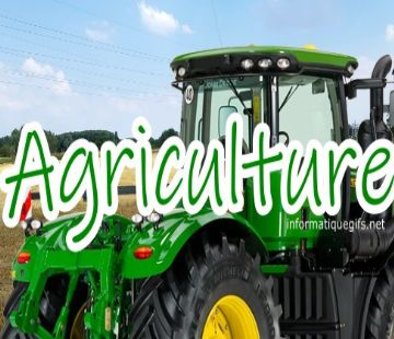 photo agriculture tracteur